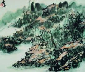 H.H.第三世多杰羌佛中國畫