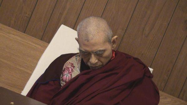 祿東贊法王生死自由,在預告的時間圓寂-(學習第三世多杰羌佛佛法)
