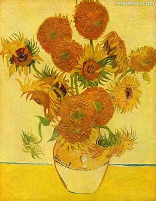 梵高作品《向日葵》之一