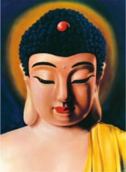H.H.第三世多杰羌佛藝術西畫欣賞 -南無釋迦牟尼法王子
